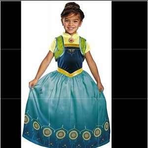 Disney Anna Frozen Fever Deluxe Costume